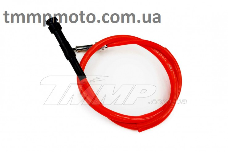 Трос спидометра DELTA, ALPHA SILICONE RED (L=815mm) TMMP